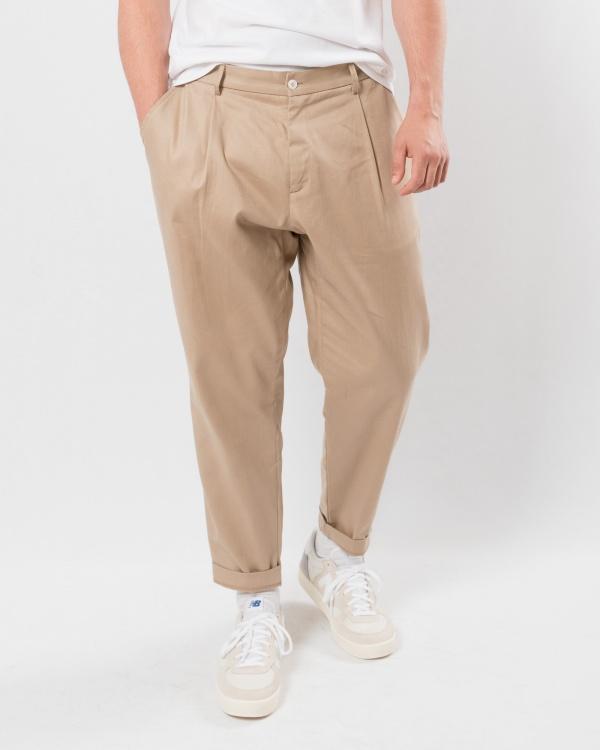 corelate pantalone-BEIGE