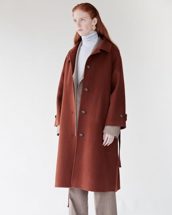 mijeong park manteau laine...