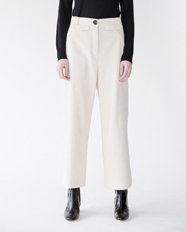 mijeong park pantalon velours