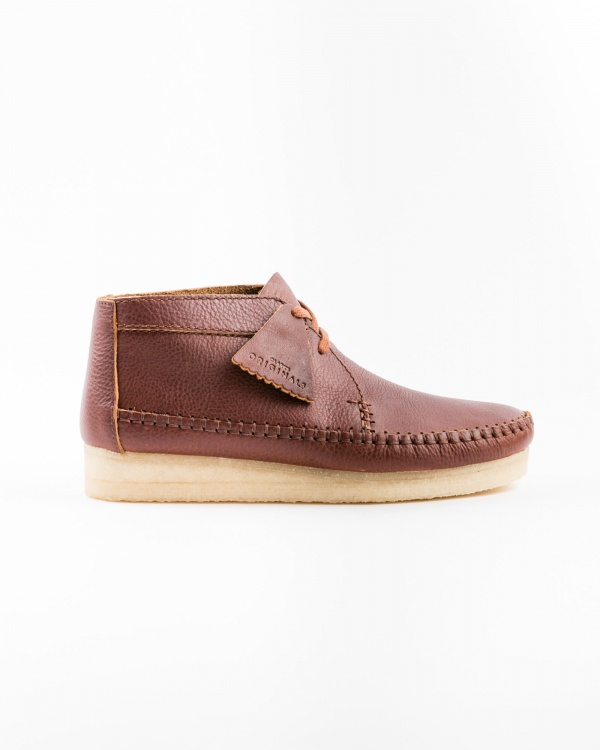 clarks weaver_boot_tan_leather