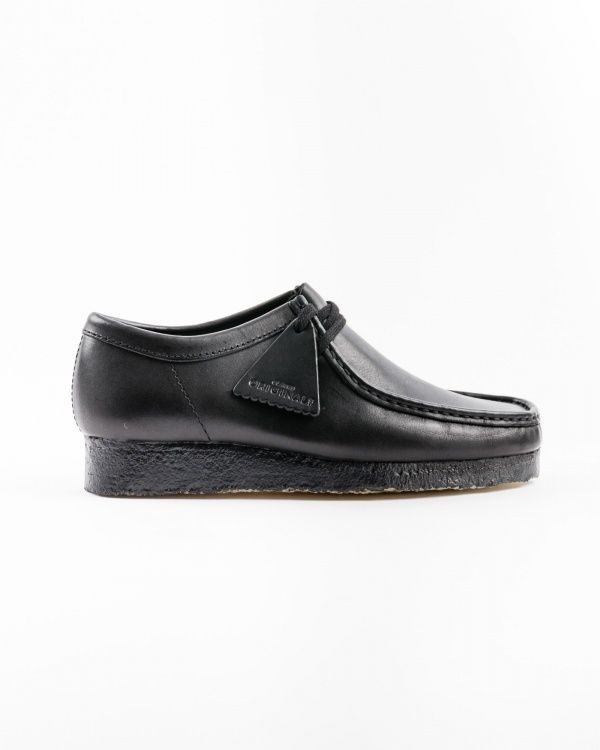 clarks wallabee_black_leather