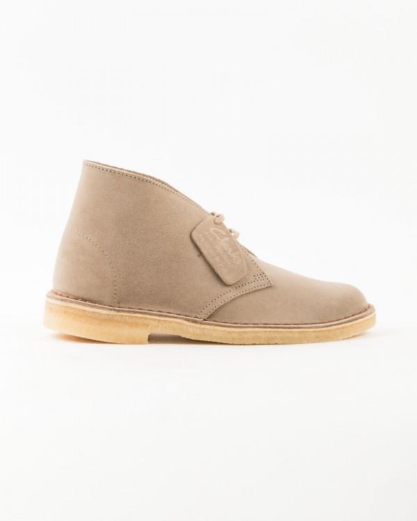 clarks desert boot-BEIGE