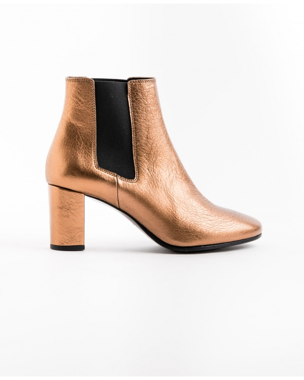 Bottines Cuir Metal Numero 276