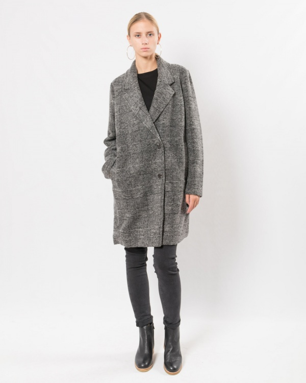 le mont st michel wool coat