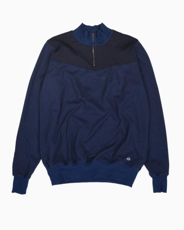 bleu de paname polo zippe
