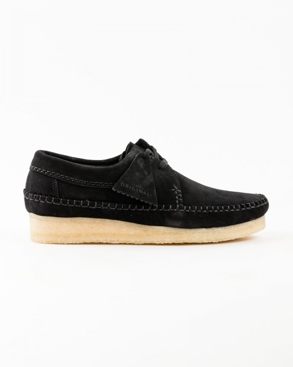 clarks chaussures weaver-NOIR