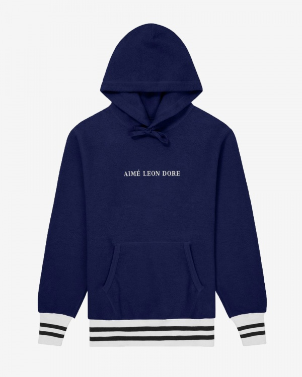 Reverse Fleece Hooded Sweatshi