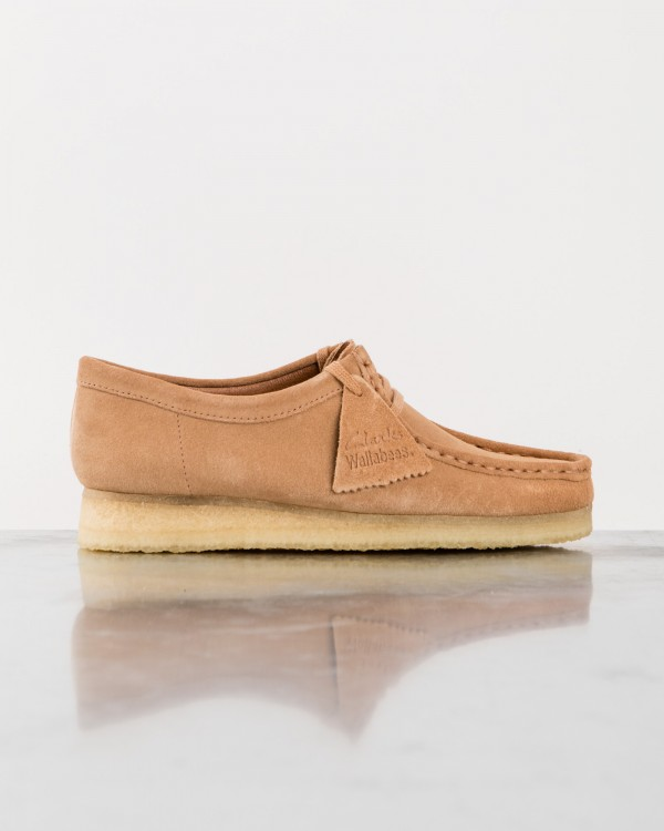 clarks wallabee-MARRON