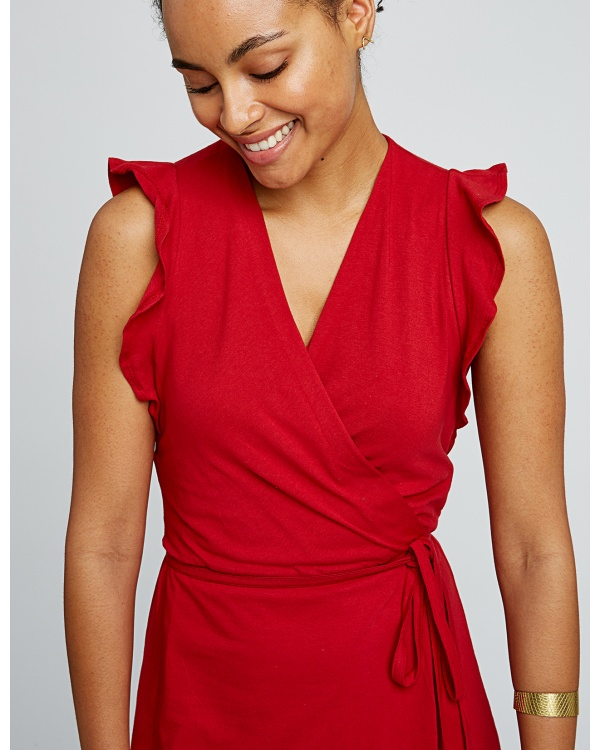 Melanie Wrap Dress