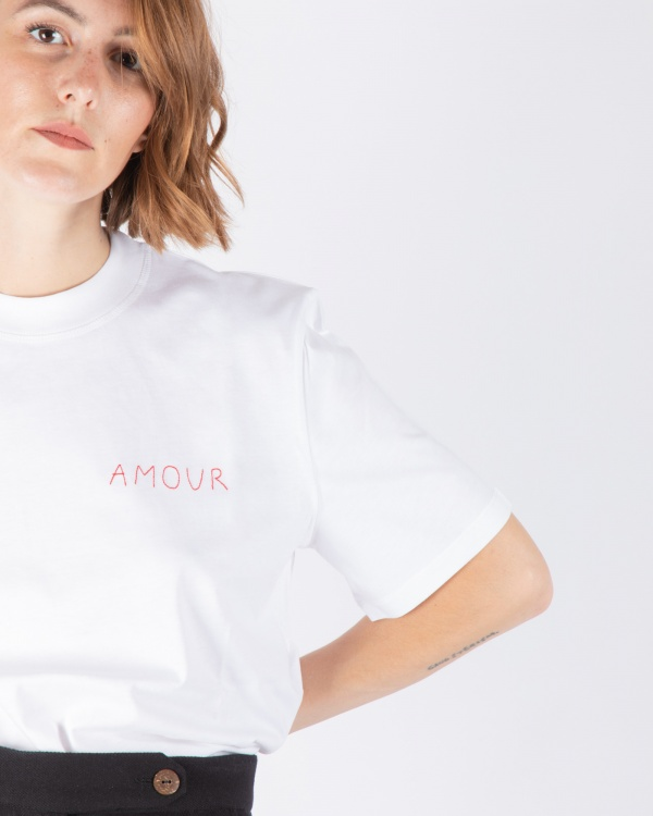 Oversized Tee Shirt Amour
