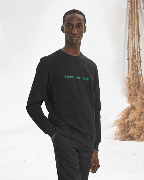 Sweatshirt L'avenir Est A Nous
