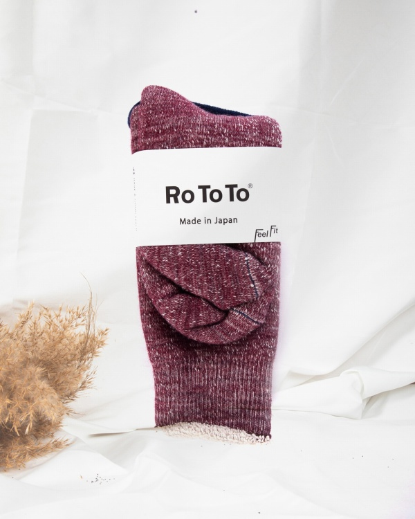 R1001 Double Face Socks Merino