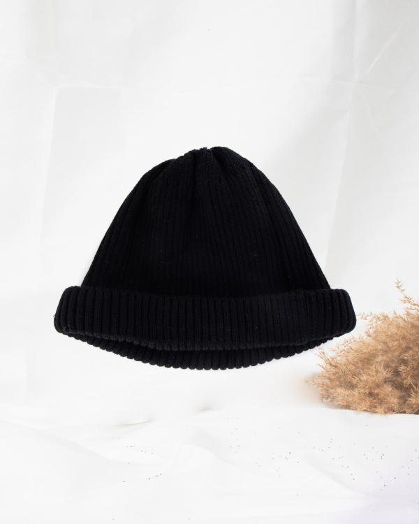 Cotton Roll Up Beanie