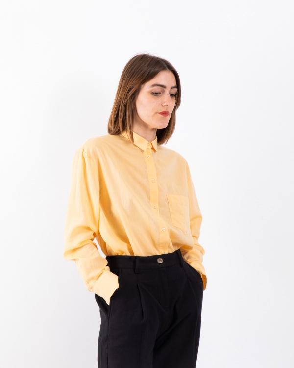 Chemise Manon - Jaune