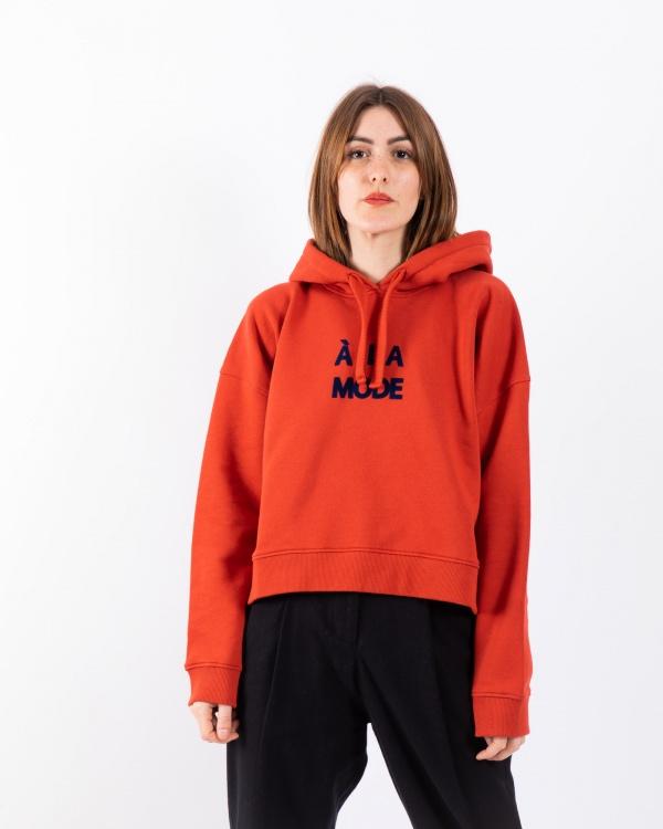Hoodie Crop A La Mode