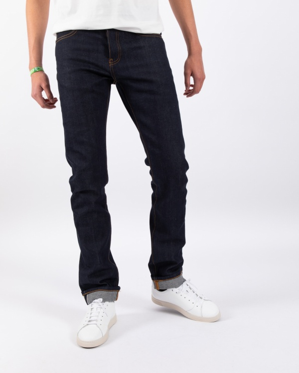 Oak Raw Blue Selvedge Denim...