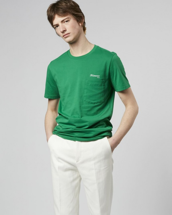 T-shirt Teddy Rizzoli - Green