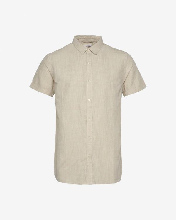 Larch Ss Linen Shirt...