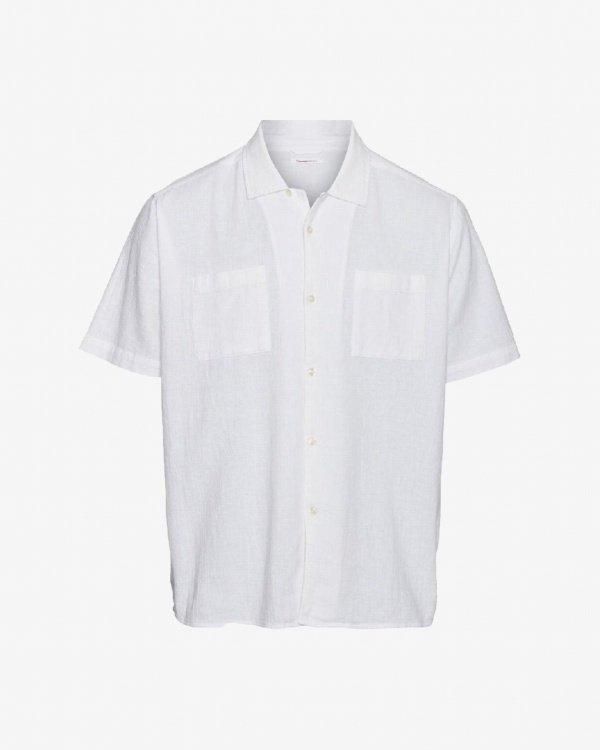 Wave Plain Ss Shirt Ocs/vegan
