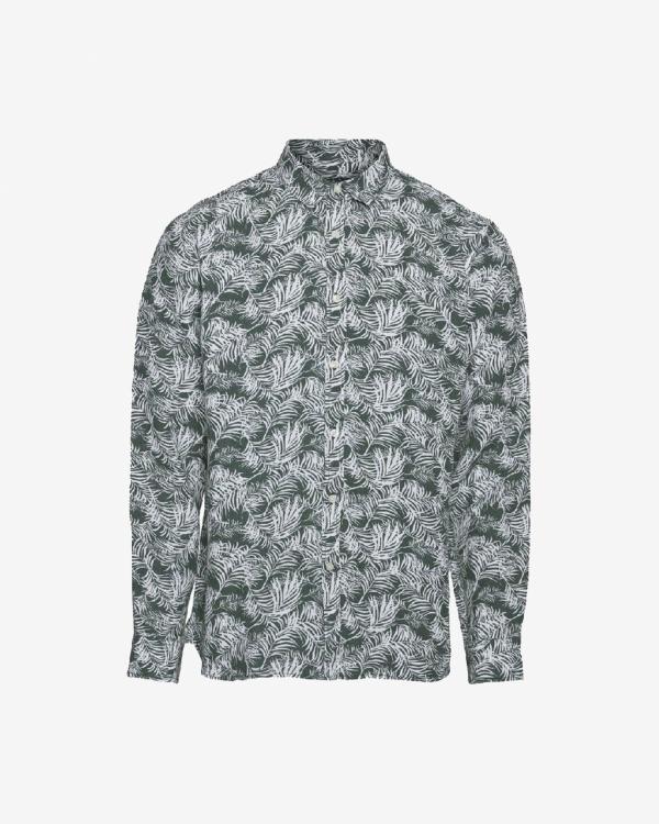 Larch Ss Palm Shirt Vegan
