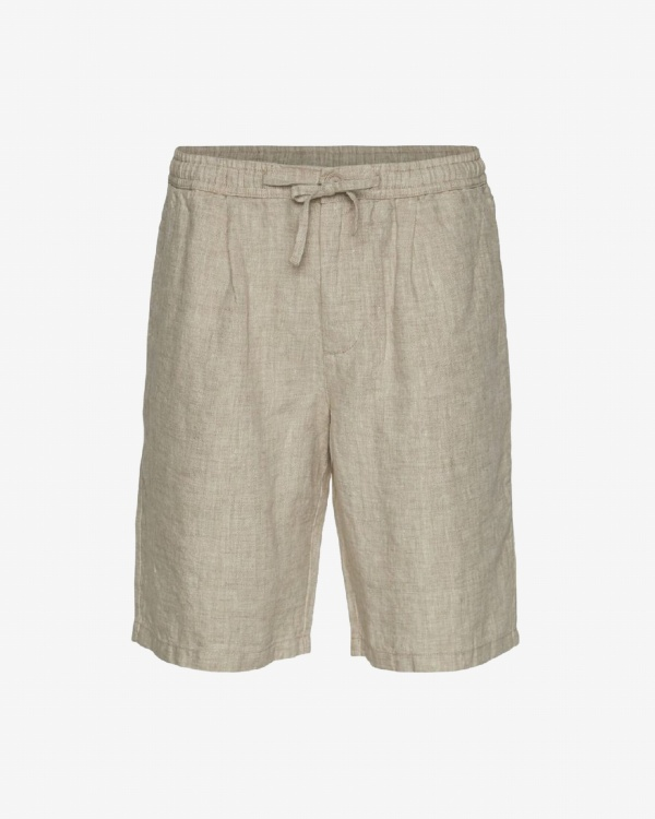 Birch Loose Linen Shorts Vegan