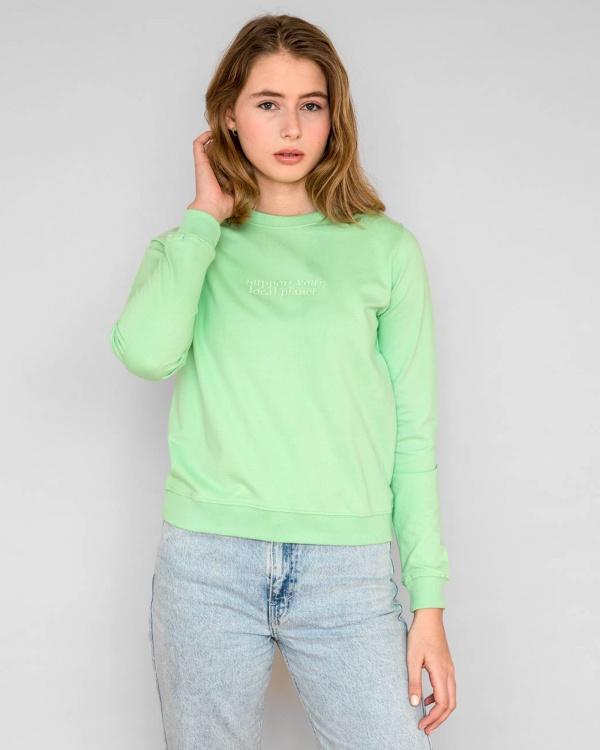 Sweatshirt Ystad Planet Suppor