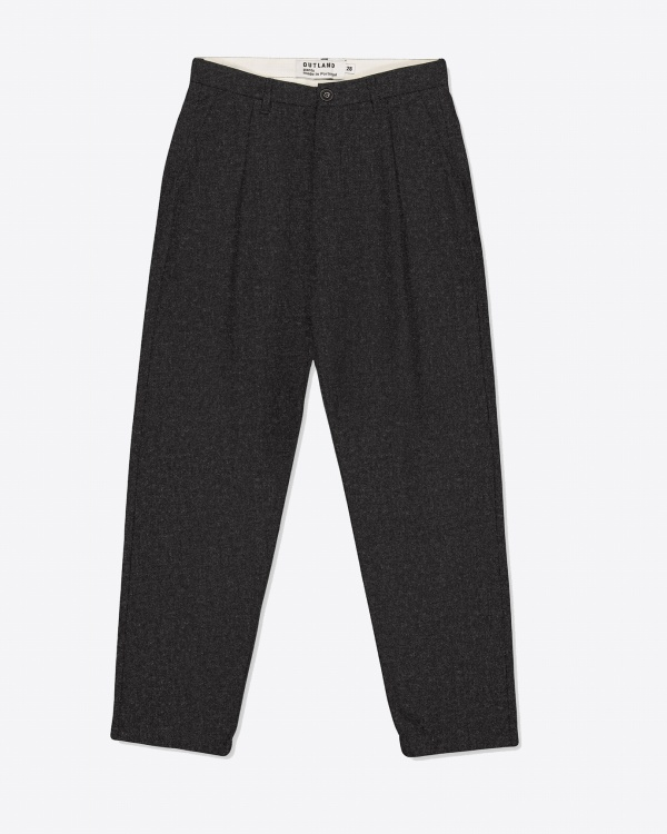 Pantalon Pleats Wool