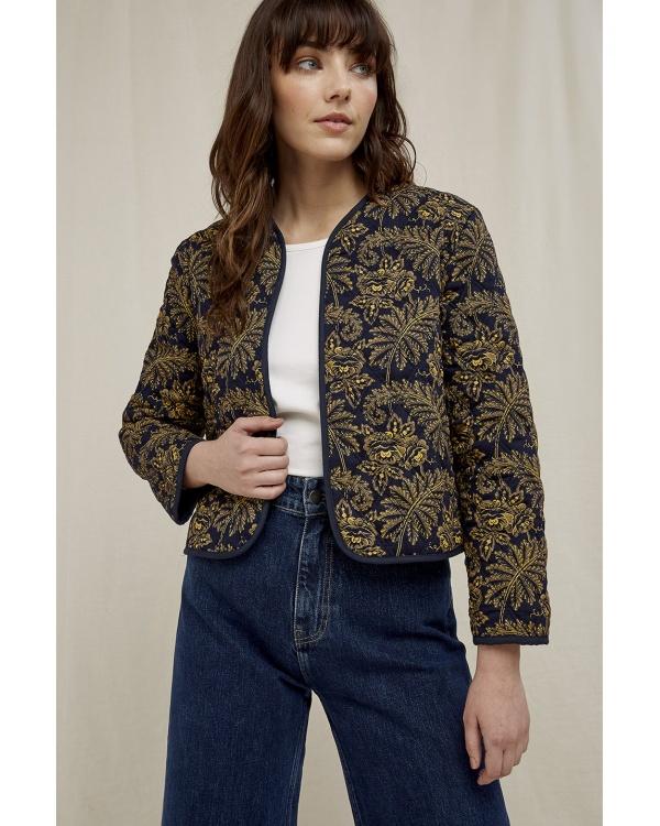 V&a Rosa Print Jacket