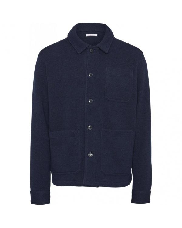 Pine Functional Wool Overshirt
