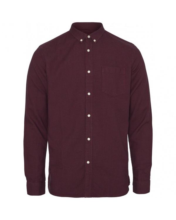 Larch Ls Zig-zak Shirt - Ocsve