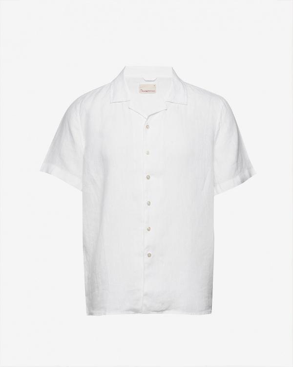 Wave Ss Linen Shirt Vegan