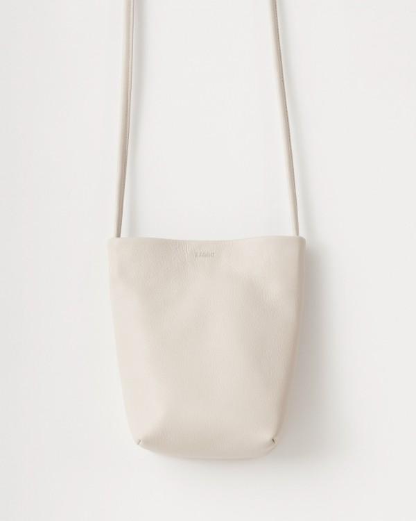 baggu cross body purse-BEIGE