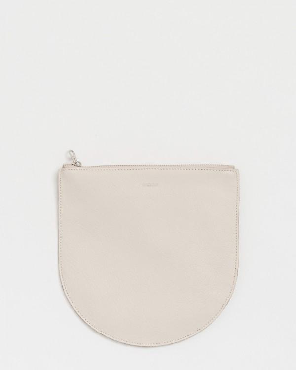 baggu large u pouch-BEIGE