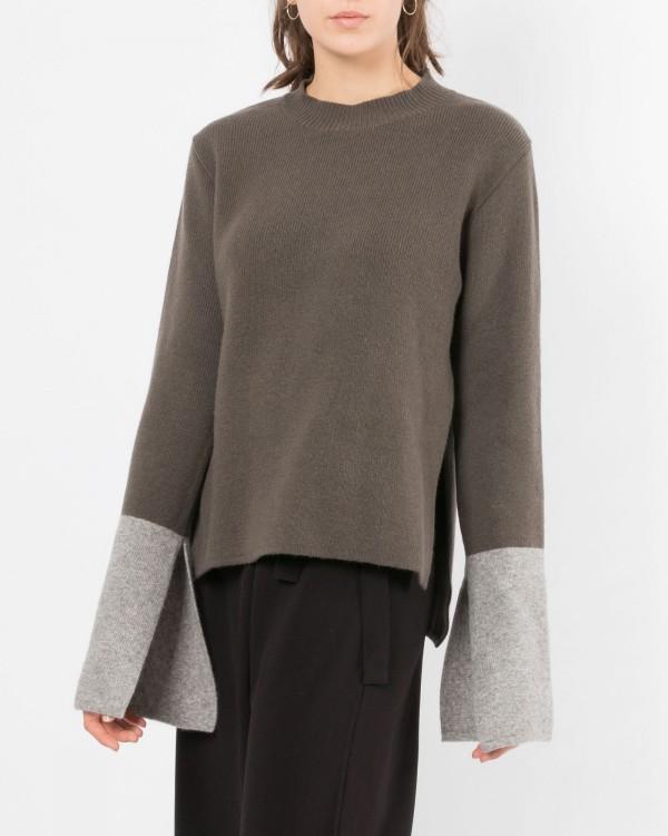 achro cashmere blend pullover