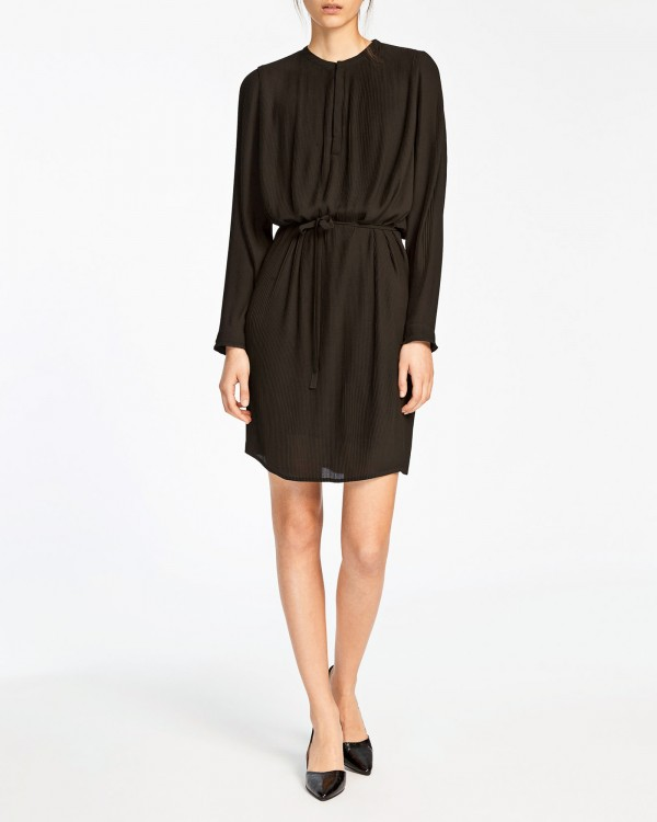 samsoe samsoe kate dress-NOIR