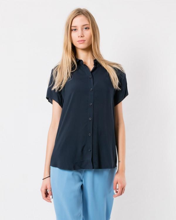 samsoe samsoe maj shirt-MARINE