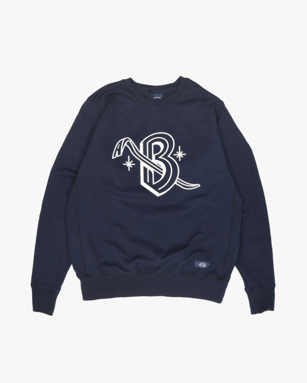 bleu de paname sweat pied...